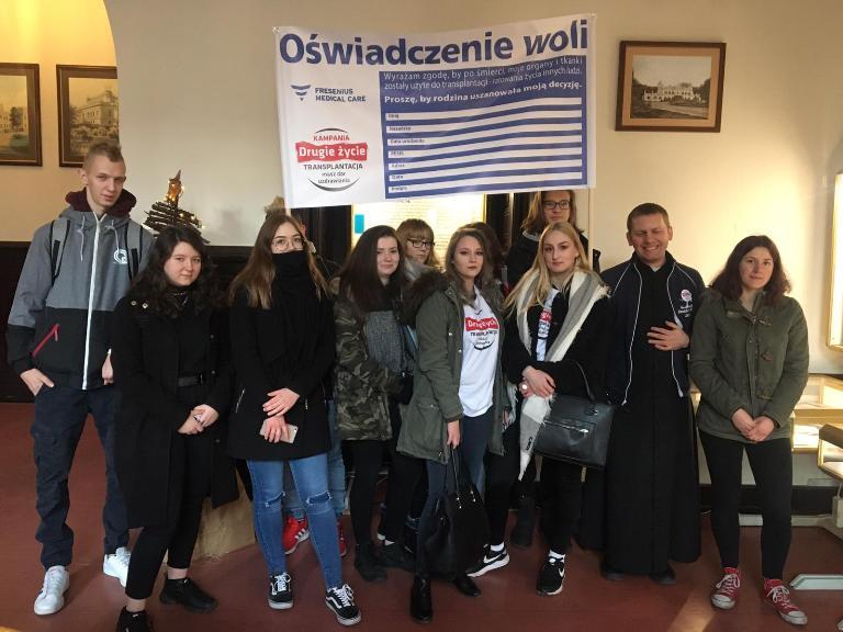 Inauguracji kampanii Drugie Życie w Urzędzie Wojewódzkim w Poznaniu