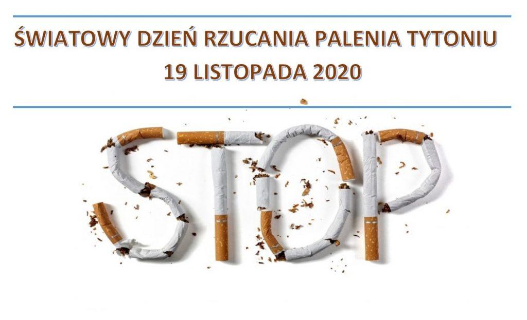 Światowy Dzień Rzucania Palenia Tytoniu – 19 listopada 2020 r.