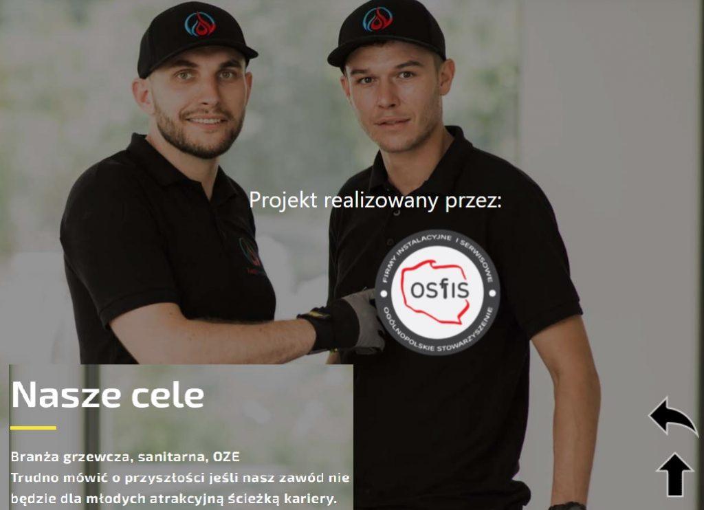 Projekt OSFIS dla monterów instalacji ZSBiKZ