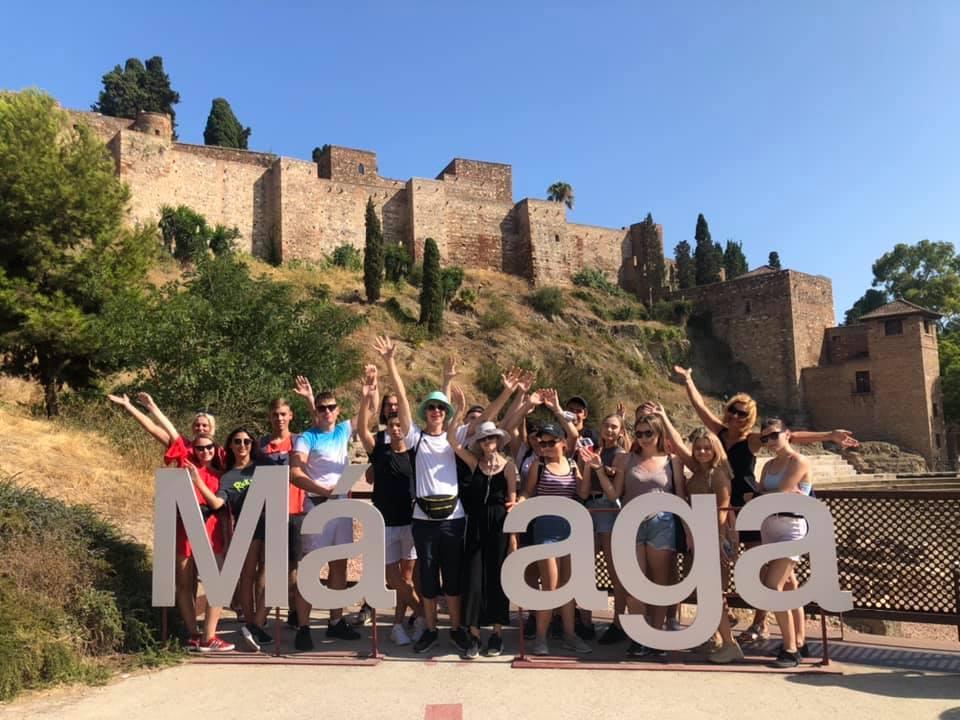 Zagraniczne praktyki – Hiszpania (Malaga) 2021r.